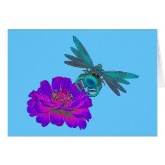 花カードのお洒落なトンボ カード