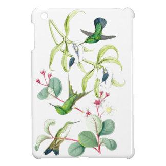 花ハチドリの鳥の花の野性生物動物 iPad MINIケース