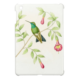 花ハチドリの鳥の花の野性生物動物 iPad MINI CASE