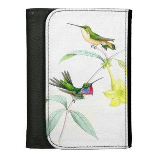 花ハチドリの鳥の野性生物動物の花 ウォレット