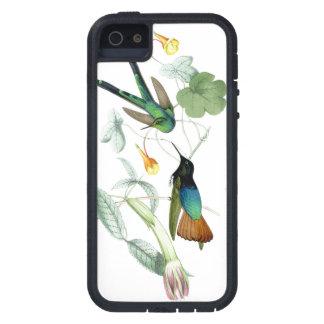 花ハチドリの鳥の野性生物動物の花 iPhone SE/5/5s ケース