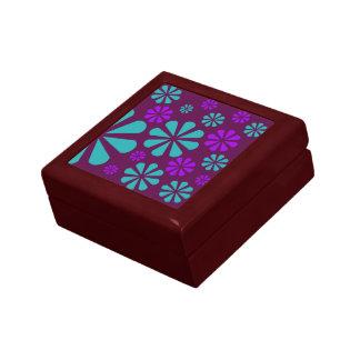 花パターンギフト用の箱 ギフトボックス