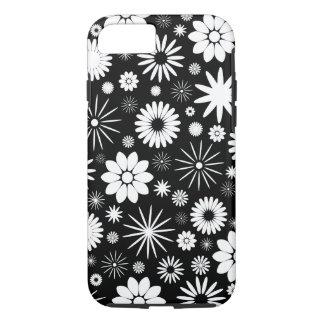 花パターンデザイン iPhone 7ケース