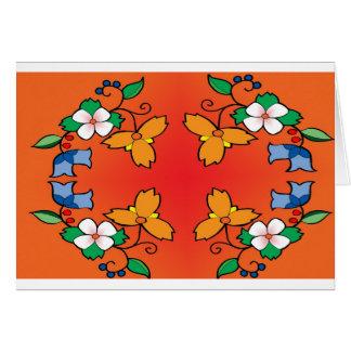 花パターン1 カード