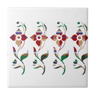 花パターン: クリーパーの花 タイル