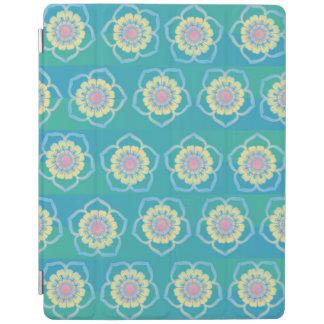 花パターン iPadスマートカバー