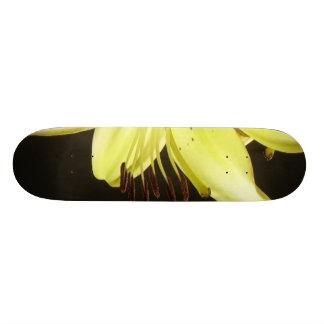 花ピストン スケートボード