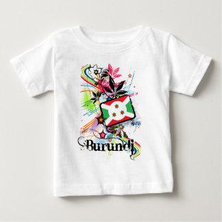 花ブルンディ ベビーTシャツ