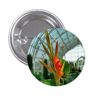 花ボタン002 3.2CM 丸型バッジ