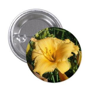 花ボタン007 3.2CM 丸型バッジ