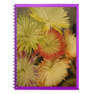 花マニア ノートブック