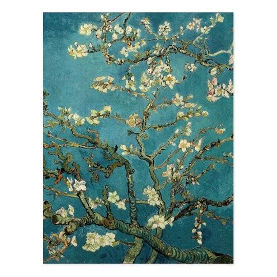 花咲くアーモンドの枝 ポストカード