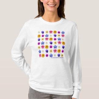 花園の女性のTシャツ Tシャツ