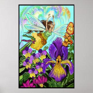 花園の妖精の魔法 ポスター