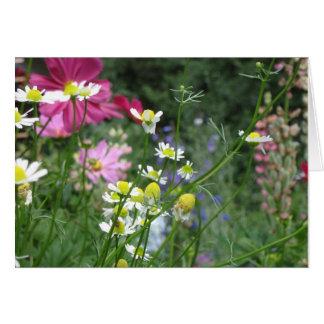 花園の挨拶状 カード