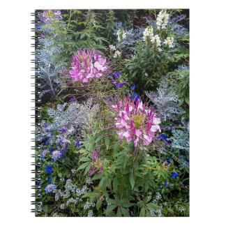 花園の螺線形ノート ノートブック