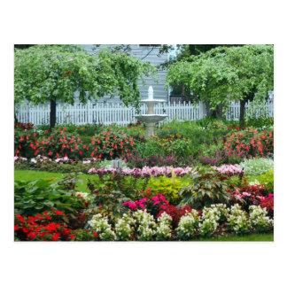 花園 ポストカード