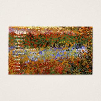 花園(F430)のゴッホのファインアート 名刺