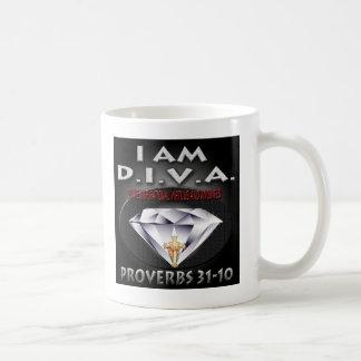 花型女性歌手のコピー コーヒーマグカップ