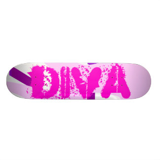 花型女性歌手のスケートボード スケートボード