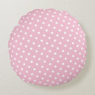 花型女性歌手のバレリーナのピンク ラウンドクッション
