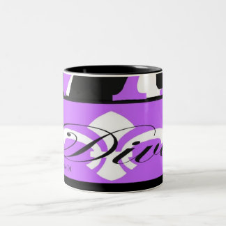 花型女性歌手のマグ ツートーンマグカップ
