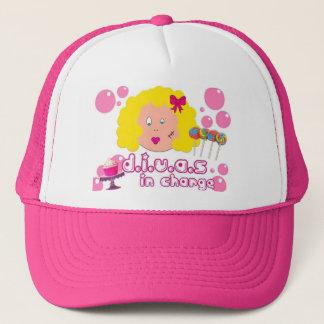 花型女性歌手の担当した帽子 キャップ