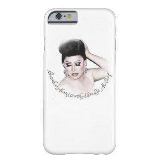 花型女性歌手の電話カバー BARELY THERE iPhone 6 ケース