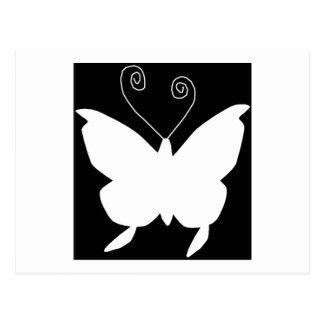花型女性歌手|蝶 はがき