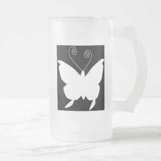 花型女性歌手|蝶 コーヒーマグカップ