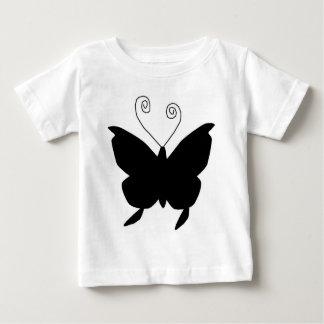 花型女性歌手 蝶 シャツ