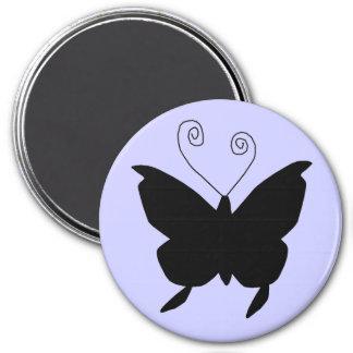 花型女性歌手 蝶 マグネット
