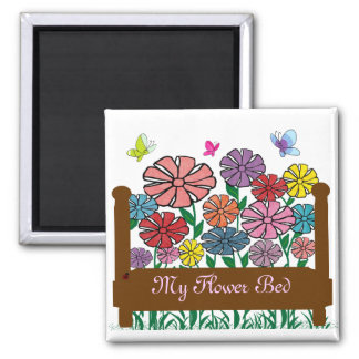 花壇、私の花壇の磁石 マグネット