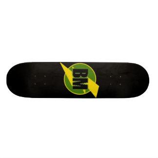 花婿介添人のスケートボード(BM) -- 黒 スケートボード