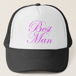 花婿介添人のトラック運転手の帽子 キャップ