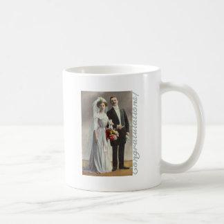 花嫁およびGroom.png コーヒーマグカップ