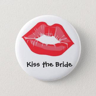 花嫁に接吻して下さい 5.7CM 丸型バッジ