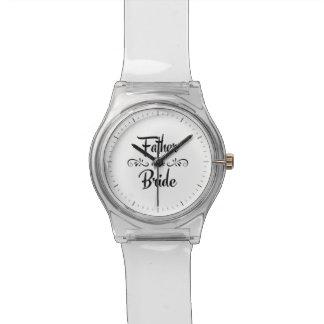 花嫁のおもしろいなリハーサルの夕食の父 腕時計