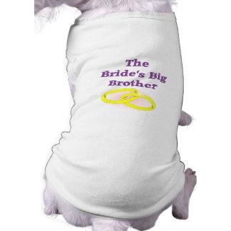 花嫁のお兄さん 犬用袖なしタンクトップ