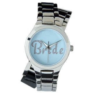 花嫁のきらきら光るな腕時計 腕時計