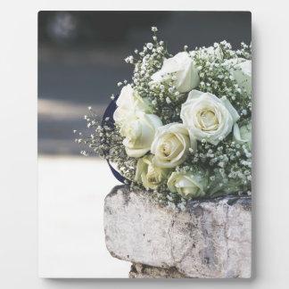 花嫁のための結婚式の結婚のギフト フォトプラーク