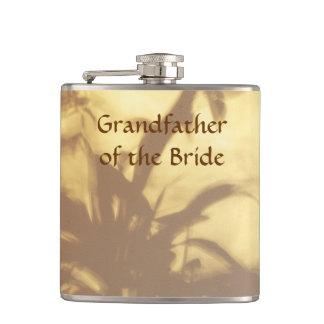 花嫁のアジアモチーフの結婚式の祖父 フラスク