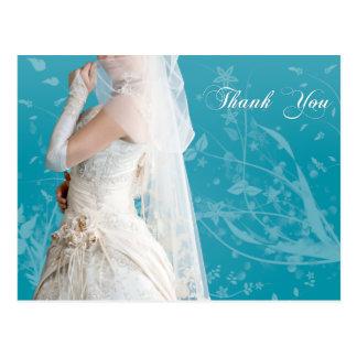 花嫁のサンキューカード ポストカード