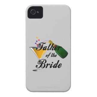 花嫁のシャンペンのトーストの父 Case-Mate iPhone 4 ケース
