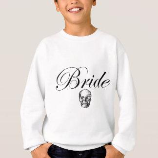 花嫁のスカルのロッカーのゴシック スウェットシャツ