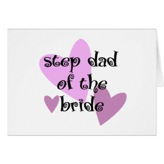 花嫁のステップパパ カード