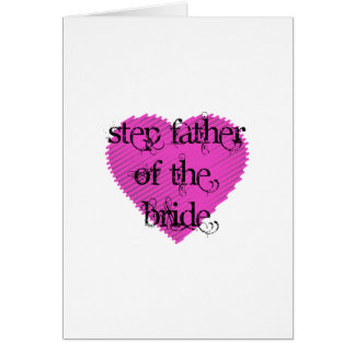 花嫁のステップ父 カード