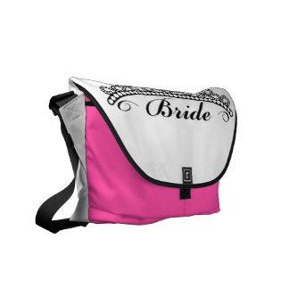 花嫁のティアラのバッグ メッセンジャーバッグ