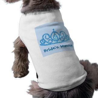 花嫁のティアラ 犬用袖なしタンクトップ