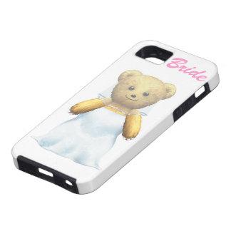 花嫁のテディー・ベア iPhone SE/5/5s ケース